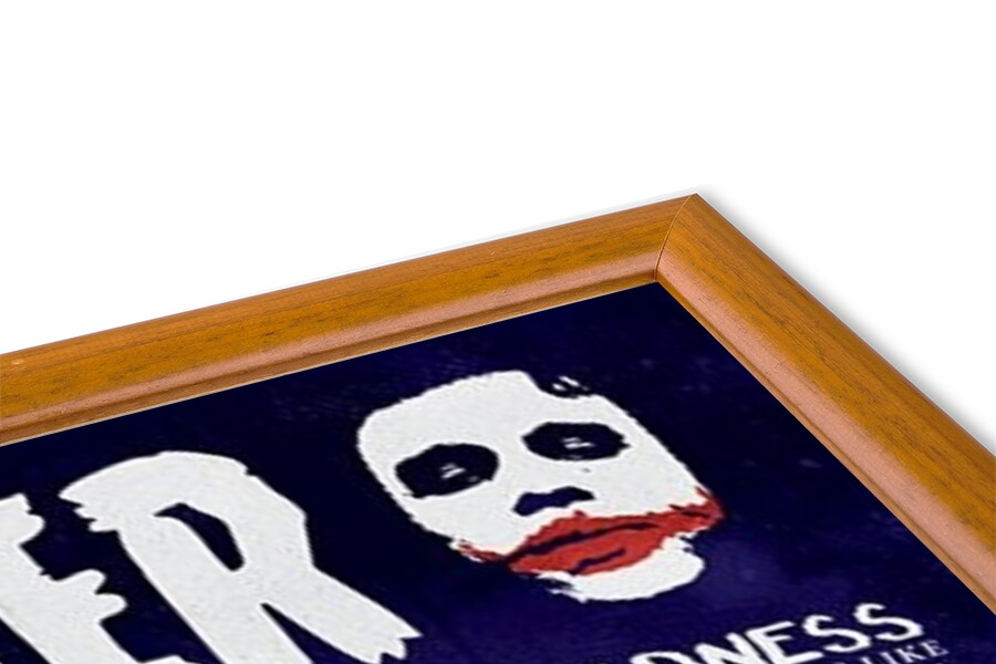 The Dark Knight: Le Chevalier noir - Joker Quotographic Poster