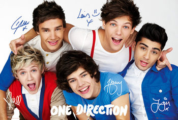 ONE DIRECTION - colours Affiche, poster, photographie