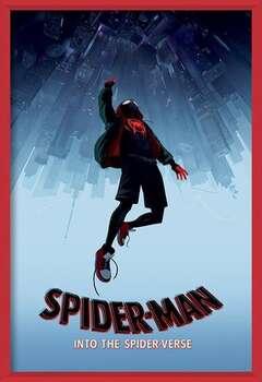 Spider-Man: New Generation - Fall Poster encadré avec lamination