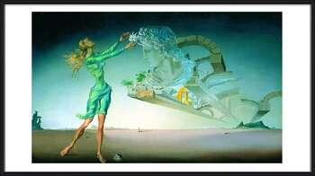 Salvador Dalí – Mirage Poster encadré avec lamination