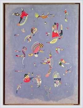 Wassily Kandinsky - Sky Blue Poster encadré avec lamination