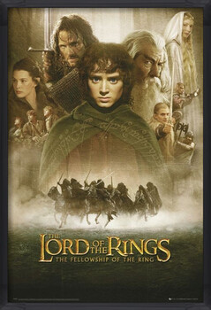 Poster encadré LORD OF THE RINGS - fellowship