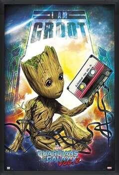 Poster encadré Guardians Of The Galaxy Vol 2 - Groot