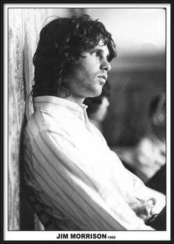 Poster encadré Jim Morrison - The Doors 1968