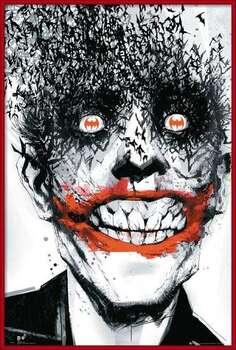 Poster encadré BATMAN Comic - Joker Bats