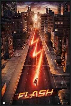 Poster encadré The Flash - One Sheet