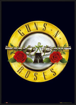 Poster encadré Guns'n'Roses - logo