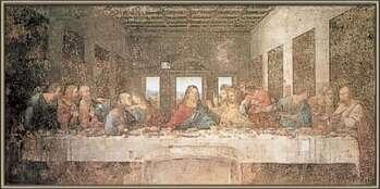 Poster encadré The Last Supper