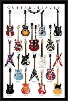 Poster encadré Guitar heaven