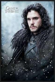 Poster encadré Game of Thrones - Jon Snow