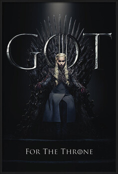 Poster encadré Game Of Thrones - Daenerys For The Throne