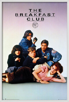 Poster encadré The Breakfast Club - Key Art