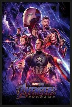 Poster encadré Avengers: Endgame - Journey's End
