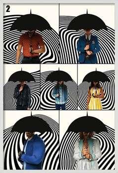 Poster encadré The Umbrella Academy - Family