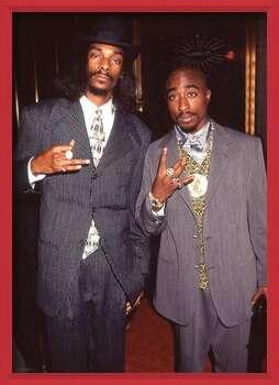 Poster encadré Snoop Dogg & Tupac - Suits