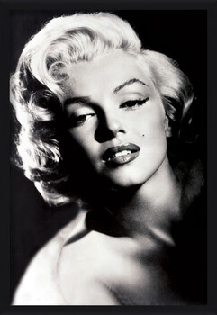 Poster encadré Marilyn Monroe - glamour