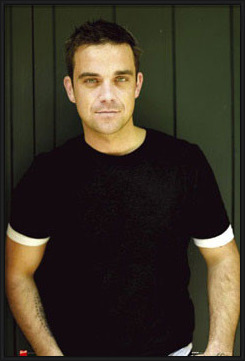 Robbie Williams - t-shirt Poster