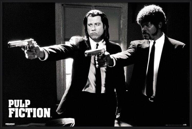Pulp fiction - guns Poster