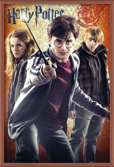 HARRY POTTER 7 - trio Poster