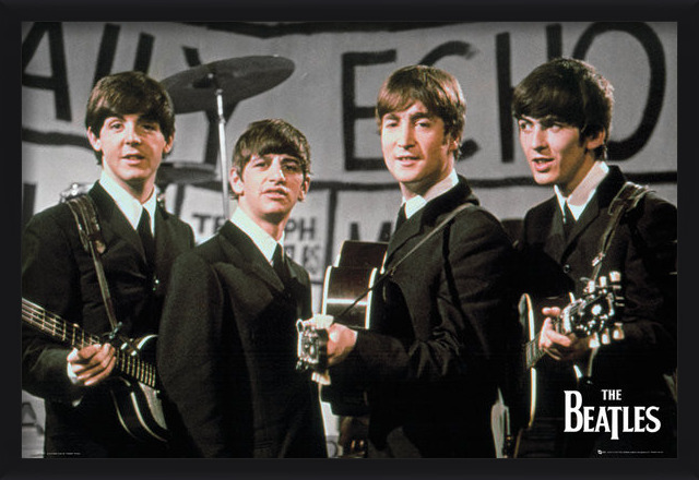 Beatles - daily echo Poster