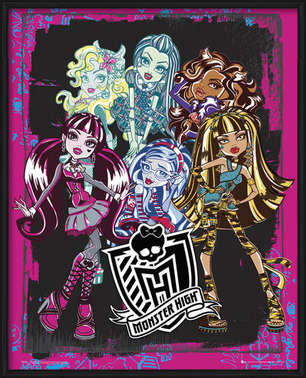 MONSTER HIGH - group Poster