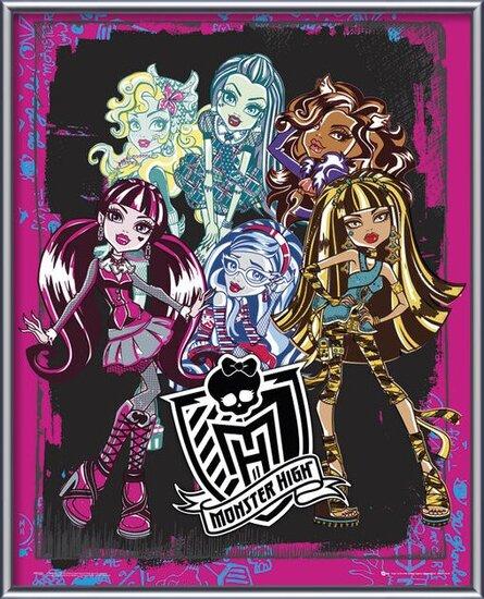 MONSTER HIGH - group Poster