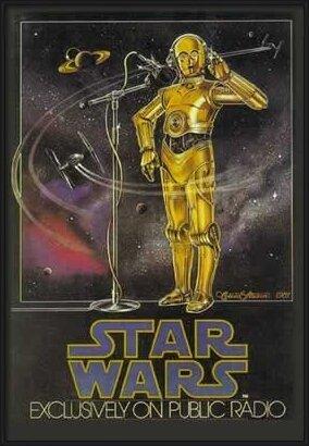 STAR WARS - radio drama Poster