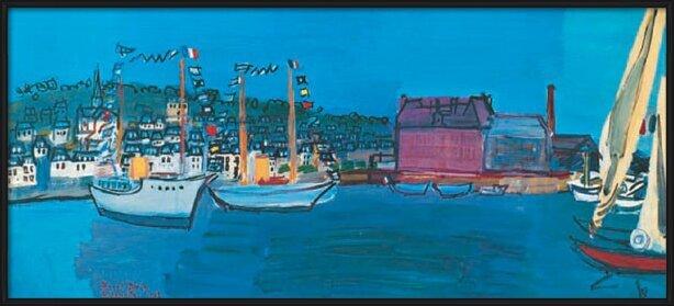 14.července 1933 v Deauville - 14 July 1933 in Deauville Reproduction d'art