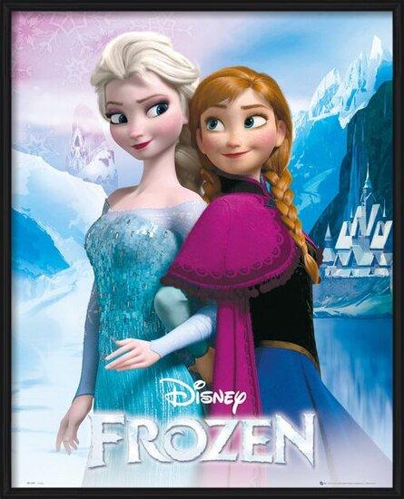 La reine des neiges - Elsa and Anna Poster