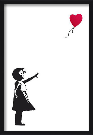 Banksy Street Art - Hope Poster
