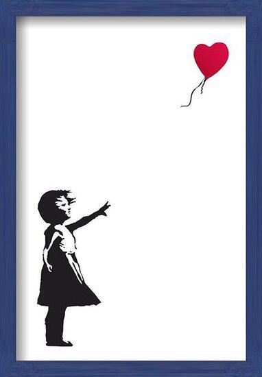 Banksy Street Art - Hope Poster