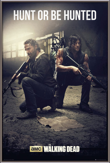 The Walking Dead - Hunt Poster