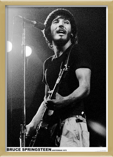 Bruce Springsteen - Born To Run Tour, Amsterdam 1981 Poster