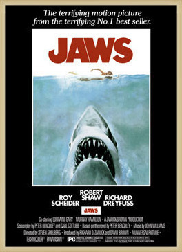 JAWS – movie poster Poster