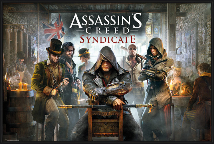 Assassin's Creed Syndicate - Pub Poster