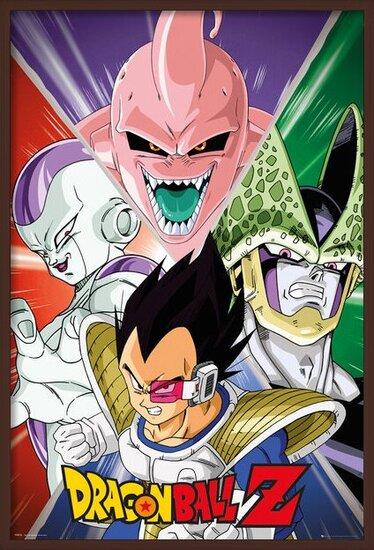 Dragon Ball Z - Villains Poster