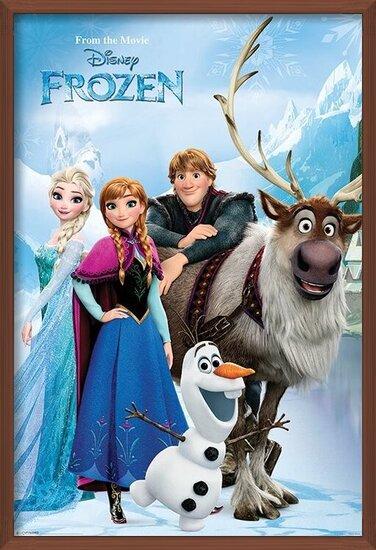 La Reine des neiges - Lakeside Poster
