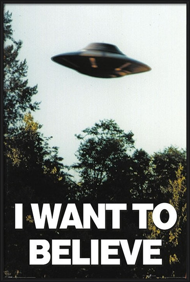 The X-Files - I Want To Believe Poster