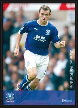 Everton - McFadden solo Poster