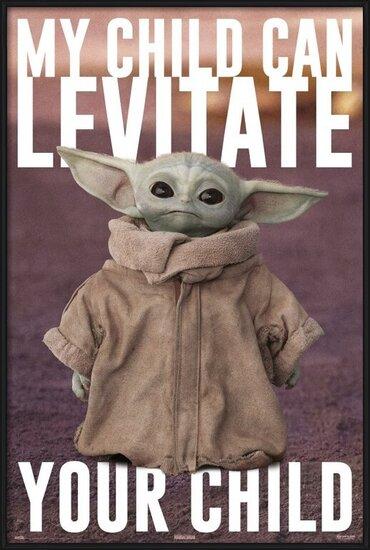 Star Wars: The Mandalorian - Baby Yoda Poster