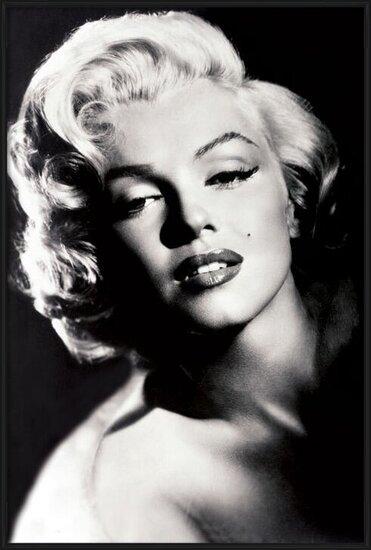 Marilyn Monroe - glamour Poster