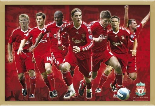 Liverpool - Players 08/09 Poster