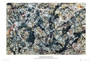 Jackson Pollock - silver on black